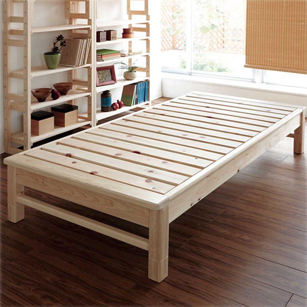 東濃檜 高さ調節すのこベッド2